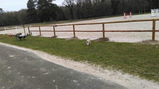 190 clôture de lise pour chevaux